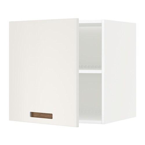 METOD Jää pakastinkaapin yläkaappi  valkoinen, Märsta valkoinen, 60×60 cm