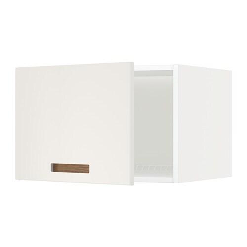 METOD Jää pakastinkaapin yläkaappi  valkoinen, Märsta valkoinen, 60×40 cm