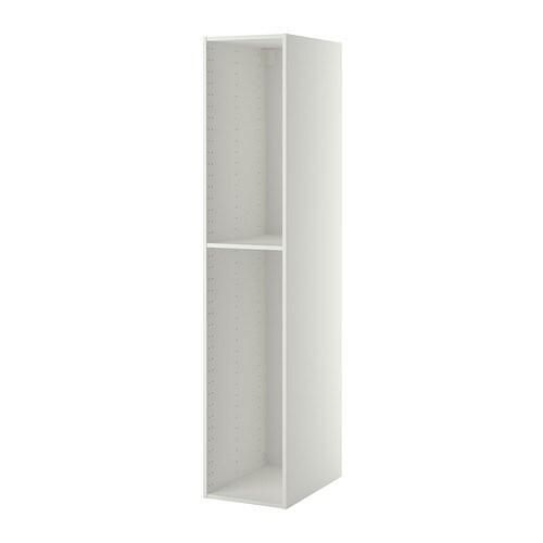 METOD Korkean kaapin runko  valkoinen, 40x60x200 cm  IKEA