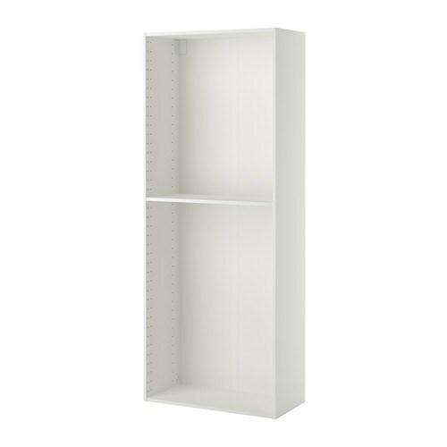 METOD Korkean kaapin runko  valkoinen, 80x37x200 cm  IKEA