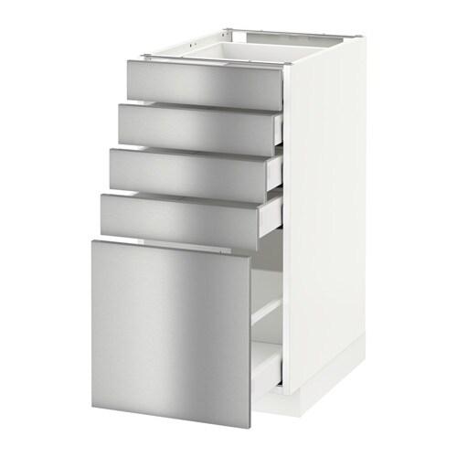 METOD  MAXIMERA Pöytäkaappi + 5 laatikkoa  valkoinen