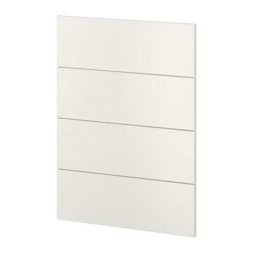 METOD 4 osainen etusarja astianpesukone  Veddinge valkoinen  IKEA