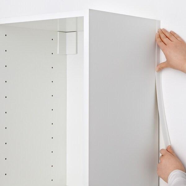 METOD Peitelista/pysty, valkoinen, 220 cm