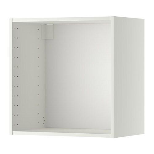 METOD Seinäkaapin runko  valkoinen, 60x37x60 cm  IKEA