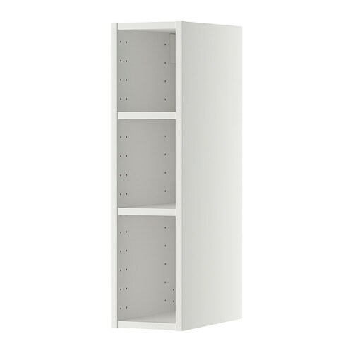 METOD Seinäkaapin runko  20x37x80 cm, valkoinen  IKEA