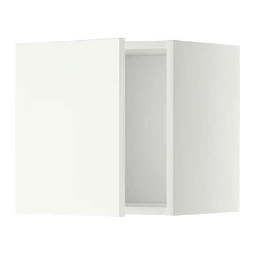 METOD Seinäkaappi  valkoinen, Häggeby valkoinen, 40×40 cm