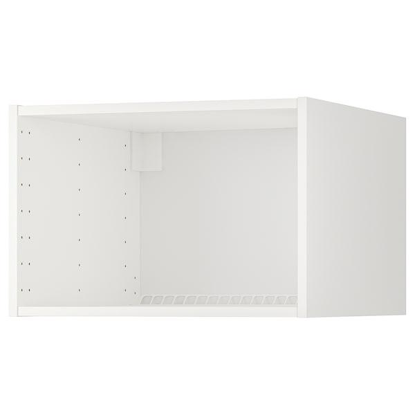METOD Yläkaapin runko jää-/pakastinkaap, valkoinen, 60x60x40 cm