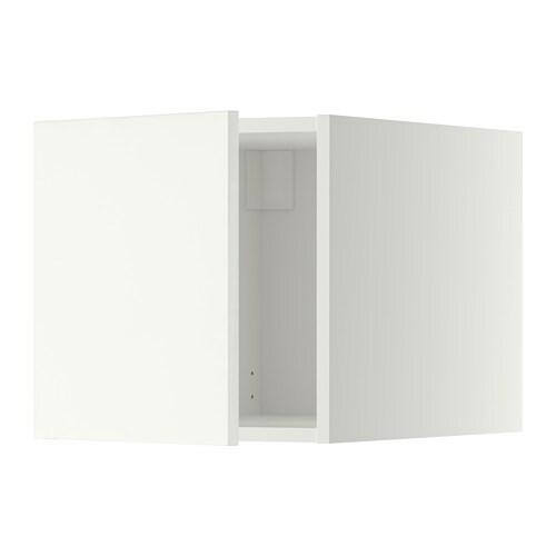 METOD Yläkaappi  valkoinen, Häggeby valkoinen  IKEA