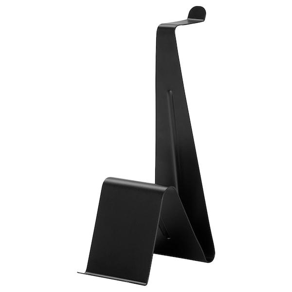 MÖJLIGHET Teline kuulokkeille/tabletille, musta