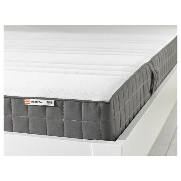 MORGEDAL Lateksipatja, puolikiinteä/tummanharmaa, 160x200 cm