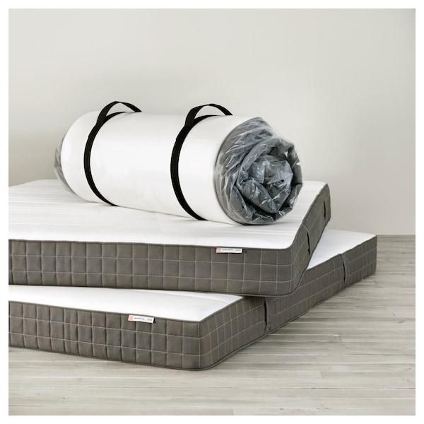 MORGEDAL Lateksipatja, puolikiinteä/tummanharmaa, 140x200 cm