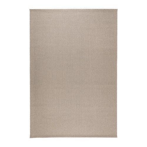 MORUM Matto, kudottu  160×230 cm, sisä ulkokäyttöön beige  IKEA