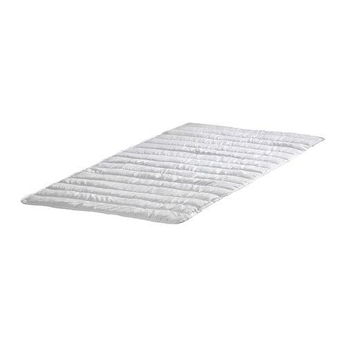 NATTLIG Patjansuojus, vedenpitävä , valkoinen Pituus: 200 cm Paksuus: 1 cm Leveys: 80 cm