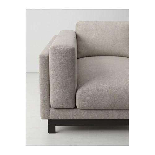 NOCKEBY Jalat 2 n istutt divaanisohvaan  IKEA