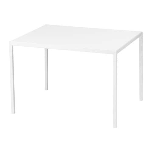 NYBODA Sohvapöytä, käännettävä pöytälevy  valkoinen harmaa  IKEA