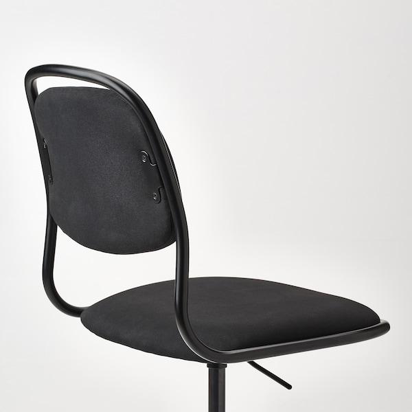 ÖRFJÄLL Työtuoli, musta/Vissle musta