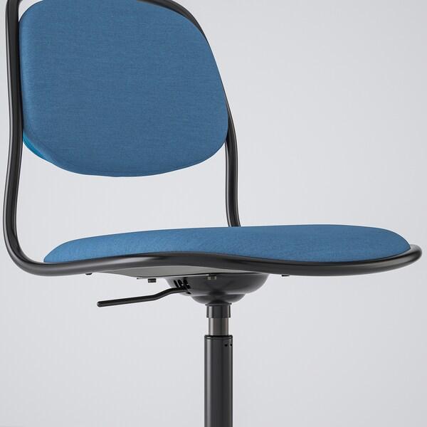 ÖRFJÄLL Työtuoli, musta/Vissle sininen