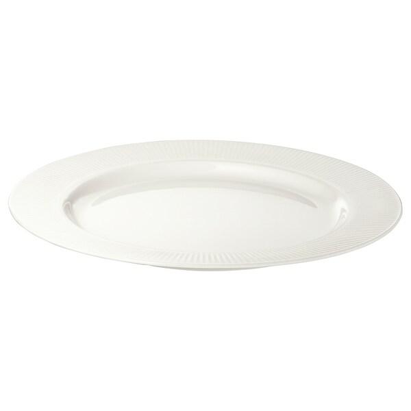 OFANTLIGT leipälautanen valkoinen 22 cm