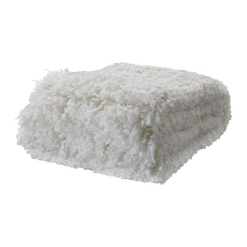 OFELIA Huopa, valkoinen Pituus: 170 cm Leveys: 130 cm