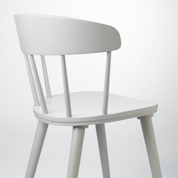 OMTÄNKSAM Tuoli, vaaleanharmaa