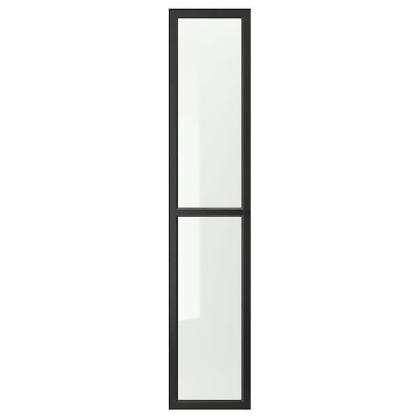 OXBERG Vitriiniovi, mustanruskea, 40x192 cm