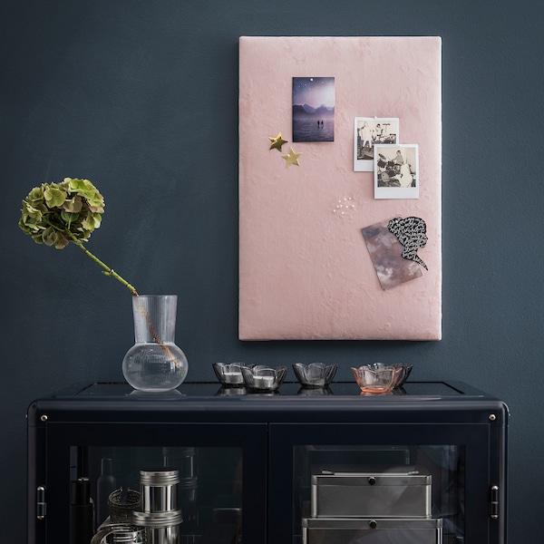 PÅDRAG Maljakko, kirkas lasi, 17 cm