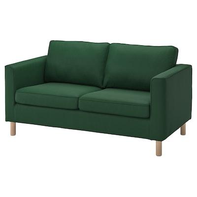 PÄRUP 2:n istuttava sohva, Vissle tummanvihreä