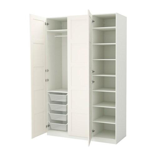 PAX Vaatekaappi  150x60x236 cm, sarana, pehmeästi sulkeutuva  IKEA