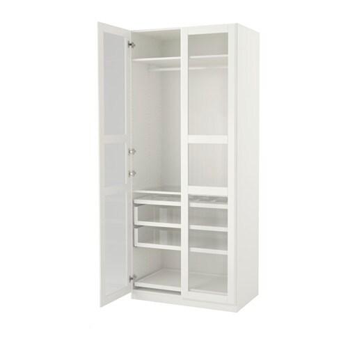 PAX Vaatekaappi  100x60x236 cm, perussaranat  IKEA