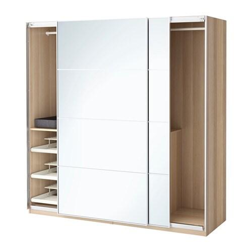 PAX Vaatekaappi  200x66x201 cm, IKEA