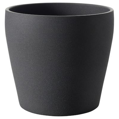 PERSILLADE Ruukku, tummanharmaa, 24 cm