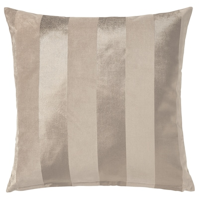 PIPRANKA Tyynynpäällinen, vaalea beige, 50x50 cm