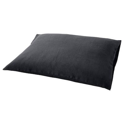 PUDERVIVA Tyynyliina, tummanharmaa, 50x60 cm