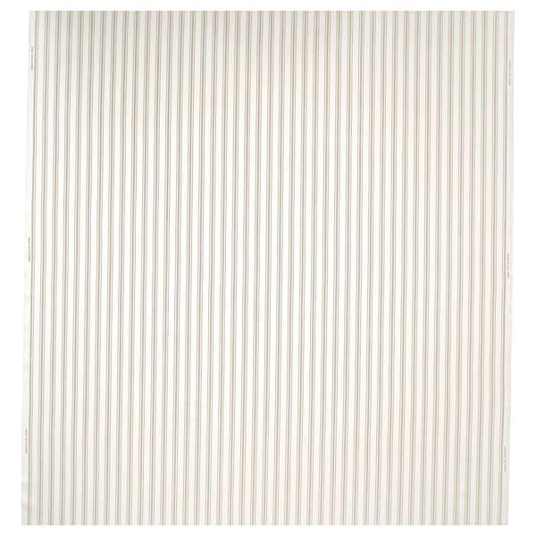 RADGRÄS Kangas, valkoinen/beige raidallinen, 150 cm