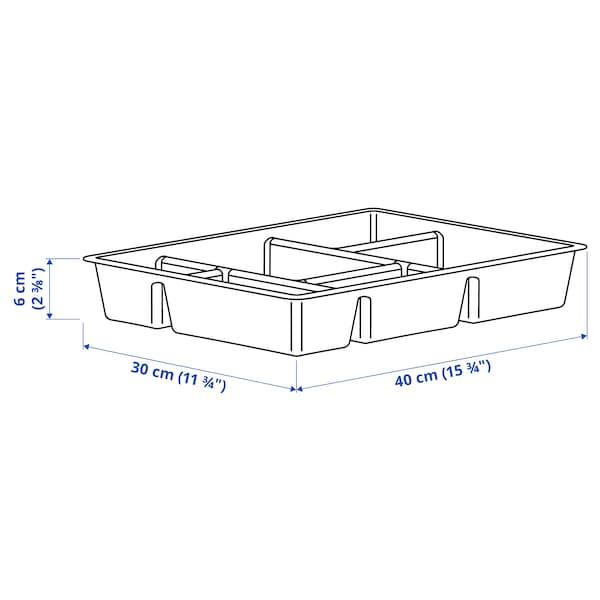 RAGGISAR Lokerikko, tummanharmaa, 40x30 cm