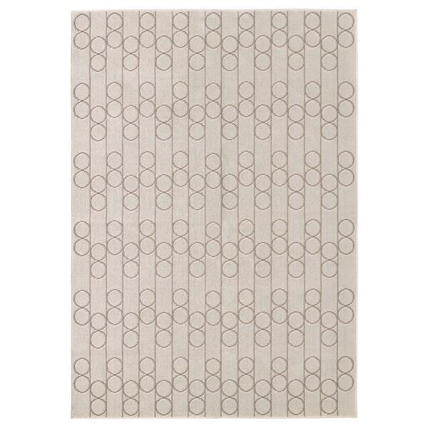 RINDSHOLM Matto, kudottu, beige, 160x230 cm