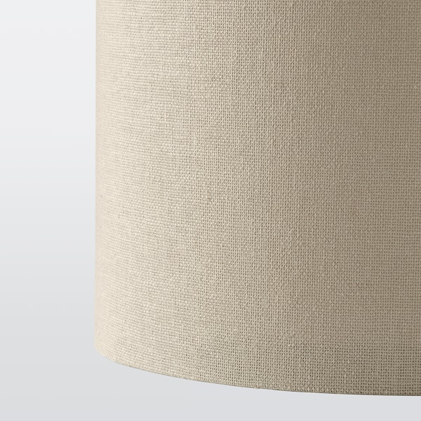 RINGSTA Lampunvarjostin, beige, 19 cm