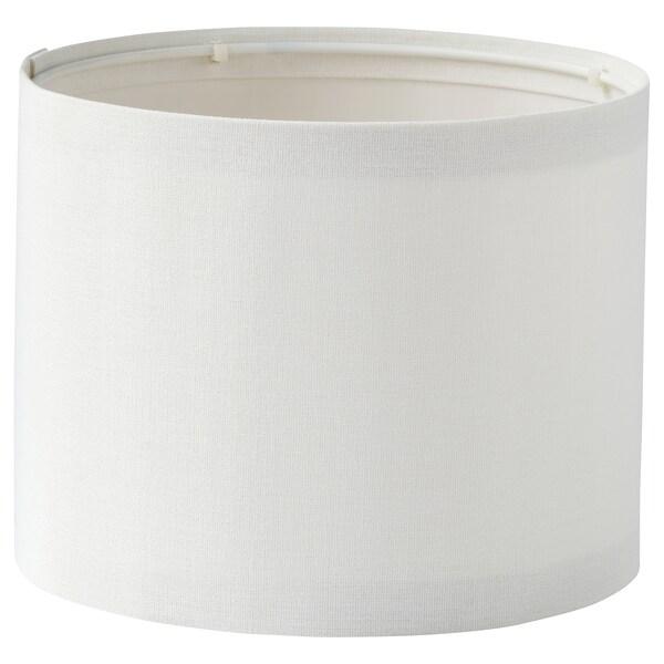 RINGSTA / SKAFTET Pöytävalaisin, valkoinen/nikkelöity, 41 cm