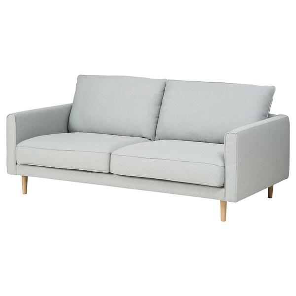 RINGSTORP 2:n istuttava sohva, vaaleanharmaa/luonnonvärinen