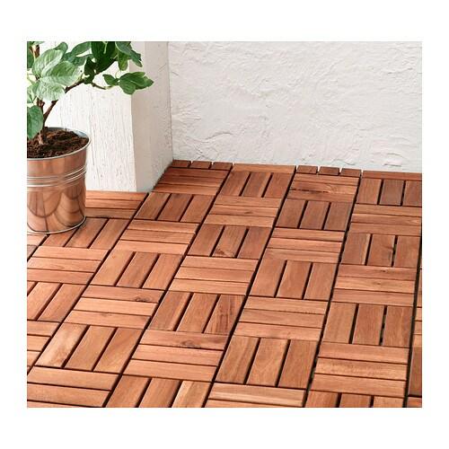RUNNEN Lattiaritilä IKEA Lattiaritilöiden avulla esim. terassin tai parvekkeen lattia on helppo uudistaa.