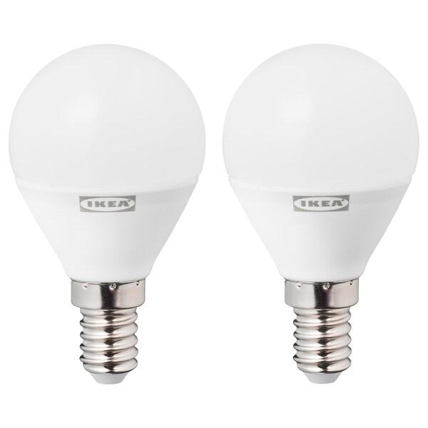 RYET Led-lamppu E14 470 lm, pallonmuotoinen opaalinvalkoinen