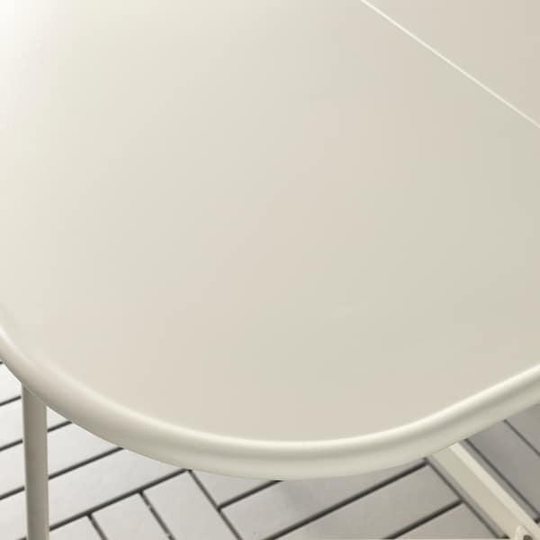 SALTHOLMEN taittopöytä, ulkokäyttöön beige 77 cm 24 cm 130 cm 74 cm 72 cm
