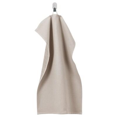 SALVIKEN Käsipyyhe, tumma beige, 40x70 cm