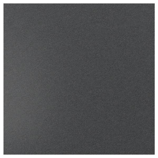 SIBBARP Mittatilausseinälevy, musta kivikuvio/laminaatti, 1 m²x1.3 cm
