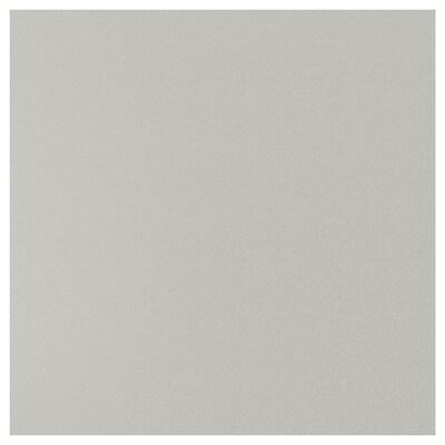 SIBBARP Mittatilausseinälevy, vaaleanharmaa kivikuvio/laminaatti, 1 m²x1.3 cm