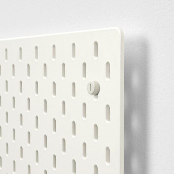 SKÅDIS Säilytystaulu, valkoinen, 76x56 cm