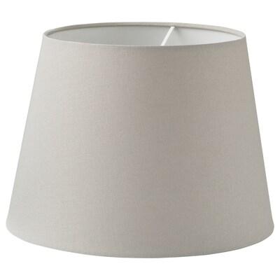 SKOTTORP lampunvarjostin vaaleanharmaa 33 cm 24 cm