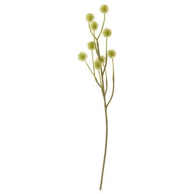 SMYCKA Tekokukka, sisä-/ulkokäyttöön/stirlingia vihreänkeltainen, 45 cm