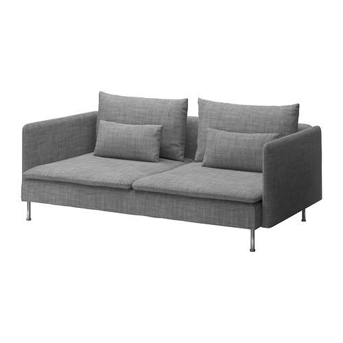SÖDERHAMN 3 n istuttava sohva  Isunda harmaa  IKEA