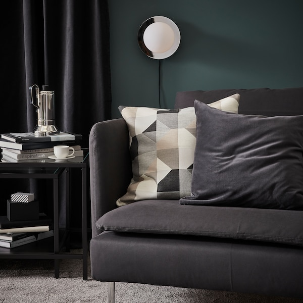 SÖDERHAMN 3:n istuttava sohva, Samsta tummanharmaa